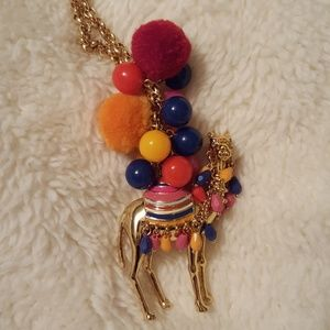 Kate Spade Spice Things Up camel pendant